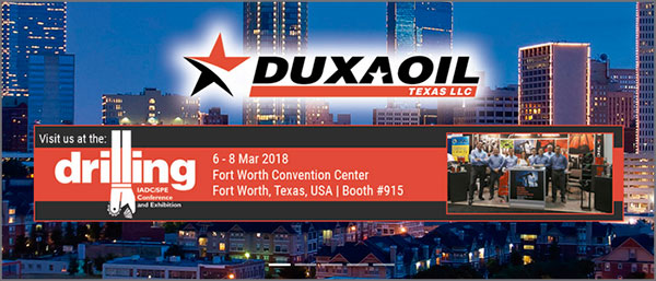 Duxaoil IADC/SPE Conference and Exhibition - Fort Worth